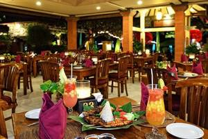 Diwangkara Holiday Villa Beach Resort Bali - Restoran
