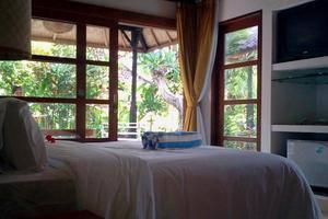 Bali Santi Bungalows Bali - Kamar Deluxe Pemandangan Taman.
