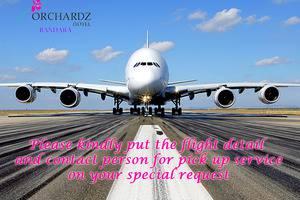Orchardz Hotel Bandara Tangerang - permintaan penjemputan