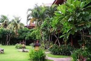 Matahari Bungalow Bali - Pemandangan Taman