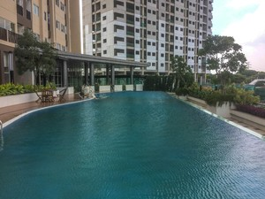 Super Luxury Studio Oasis Apartment Cikarang By Travelio