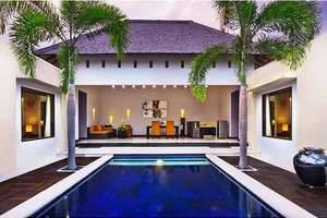 The Seminyak Suite Bali - Two bedroom villa-Living Room
