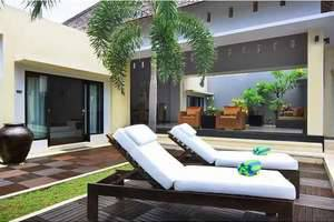 The Seminyak Suite Bali - Three bedroom villa overview 1