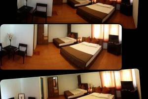 Amazon Bungalow & Cottages Pangandaran - Cozy Family room - Bed & Living room's