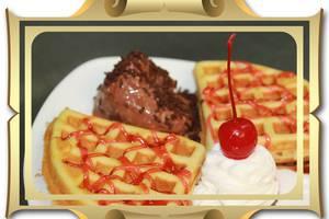 Hermes Palace Hotel Medan - Waffle Ice Cream