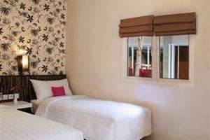 Merak Lifestyle Hotel Denpasar - Tempat tidur twin