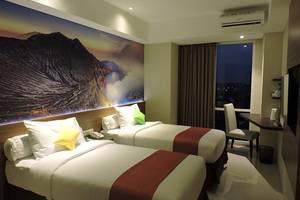The Balava Hotel Malang - Kamar Twin dengan pemandangan kota