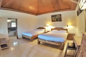 Villa Bintang Ubud Bali - Kamar tamu