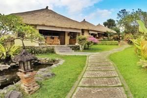 Villa Bintang Ubud Bali - Sekeliling Villa