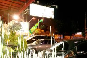 Sunrise Hotel Yogyakarta Yogyakarta - Suasana depan hotel saat malam