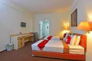 ZEN Rooms Kebayoran Jakarta - Tempat tidur Twin