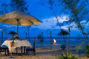 Le Grandeur Balikpapan - Makan malam romantis
