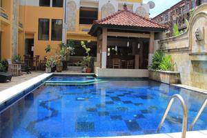 Tinggal Nathan Hotel Bali - Pool View