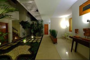 Villa Mataano Lombok - Courtyard