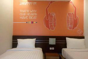 JAV Front One Hotel Lahat - Deluxe Tempat Tidur Twin