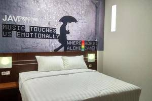 JAV Front One Hotel Lahat Lahat - Kamar