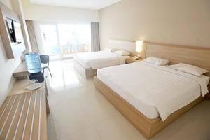 Laut Biru Resort Hotel Pangandaran - Guest room
