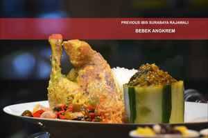 Hotel Arcadia Surabaya - Menu Bebek Angkrem