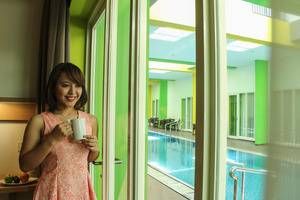 MaxOneHotels at Resort Delia Makassar - View Kolam