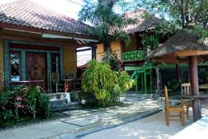 Krisna Bungalow and Restaurant Lombok - pemandangan