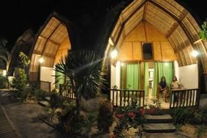 Krisna Bungalow and Restaurant Lombok - Lumbung bungalow