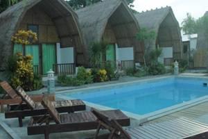Krisna Bungalow and Restaurant Lombok - Bungalow Pemandangan Kolam Renang