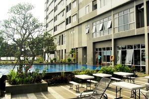 High Livin Apartment Bandung - Teras