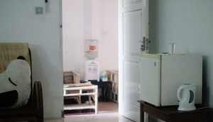 Relic Room Guest House Malang - kulkas