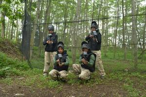 d Green Kayon Airport Hotel Solo - Paint Ball Game