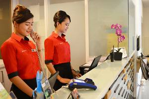 d'primahotel Airport Jakarta IA - Front Office