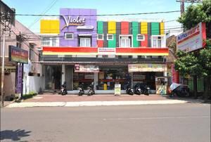 Violet Hotel Malang - Tampak Depan