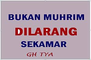 Tya Guest House Malang - bukan muhrim dilarang sekamar