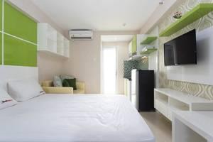 RedDoorz Apartment @Bassura Cipinang Jakarta - Kamar tamu