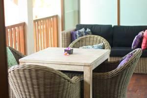 Dipan Resort Bali - balcony 3br villa