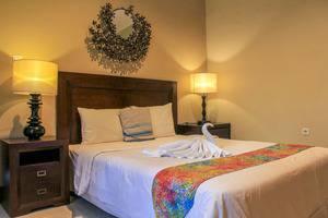 Villa Padi Cangkringan Yogyakarta - kamar tidur