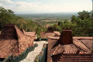 Villa Borobudur Magelang - View from Hotel