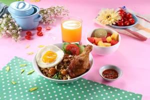 POP Hotel BSD City Tangerang - Nasi goreng