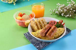 POP Hotel BSD City Tangerang - omelet