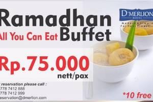 D'Merlion Hotel Batam - Ramadhan Buffet 2017