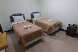 Ndalem Mantrijeron Hotel Yogyakarta - Plengkung Gading Twin Bed