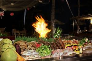 Aston Sunset Beach Resort - Gili Trawangan - Makan Malam BBQ