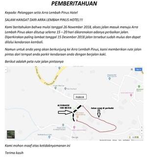 Arra Lembah Pinus Hotel Ciloto - Info