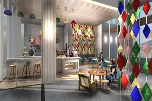 POP! Hotel Pasar Baru - Restoran