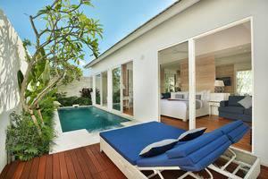 Aleva Villa Bali - Villa Satu Kamar dengan Kolam renang pribadi