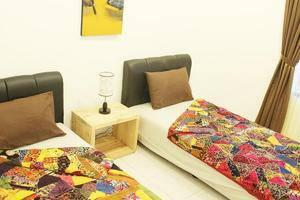 The Wayang Homestay Yogyakarta - Kamar twin bed