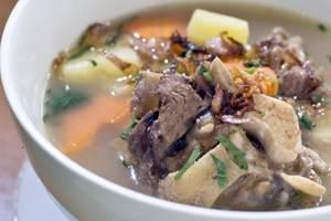 Griya Sentana Hotel Yogyakarta - sup buntut, menu favorit di resto