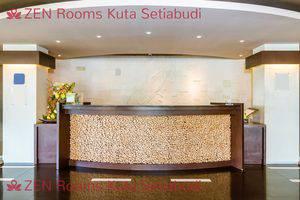 ZenRooms Kuta Setiabudi Bali - Resepsionis