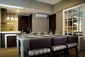 Horison Lampung - Penthouse dining Room