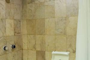Hotel New Saphir Yogyakarta - Bathroom with bathub