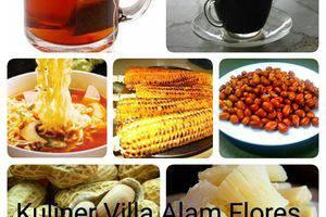 Villa Alam Flores Flores - Meal